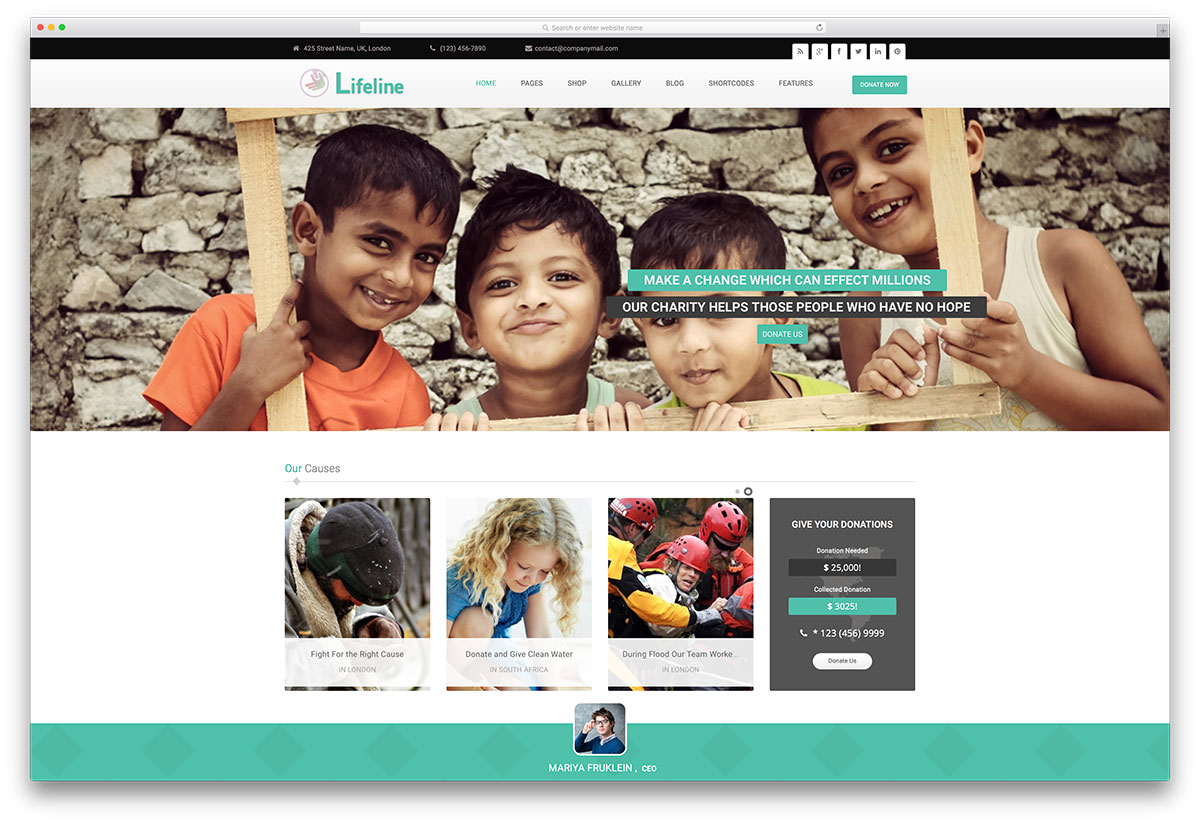 "lifeline-simple-charity-orgnization-theme"" width=""1200"" height=""824"" srcset=""https://colorlib.com/wp/wp-content/uploads/sites/2/lifeline-simple-charity-orgnization-theme.jpg 1200w, https://colorlib.com/wp/wp-content/uploads/sites/2/lifeline-simple-charity-orgnization-theme-300x206.jpg 300w, https://colorlib.com/wp/wp-content/uploads/sites/2/lifeline-simple-charity-orgnization-theme-768x527.jpg 768w, https://colorlib.com/wp/wp-content/uploads/sites/2/lifeline-simple-charity-orgnization-theme-1024x703.jpg 1024w"" data-lazy-sizes=""(max-width: 1200px) 100vw, 1200px"" src=""https://cdn.colorlib.com/wp/wp-content/uploads/sites/2/lifeline-simple-charity-orgnization-theme.jpg""/></p> <p><noscript><img class="