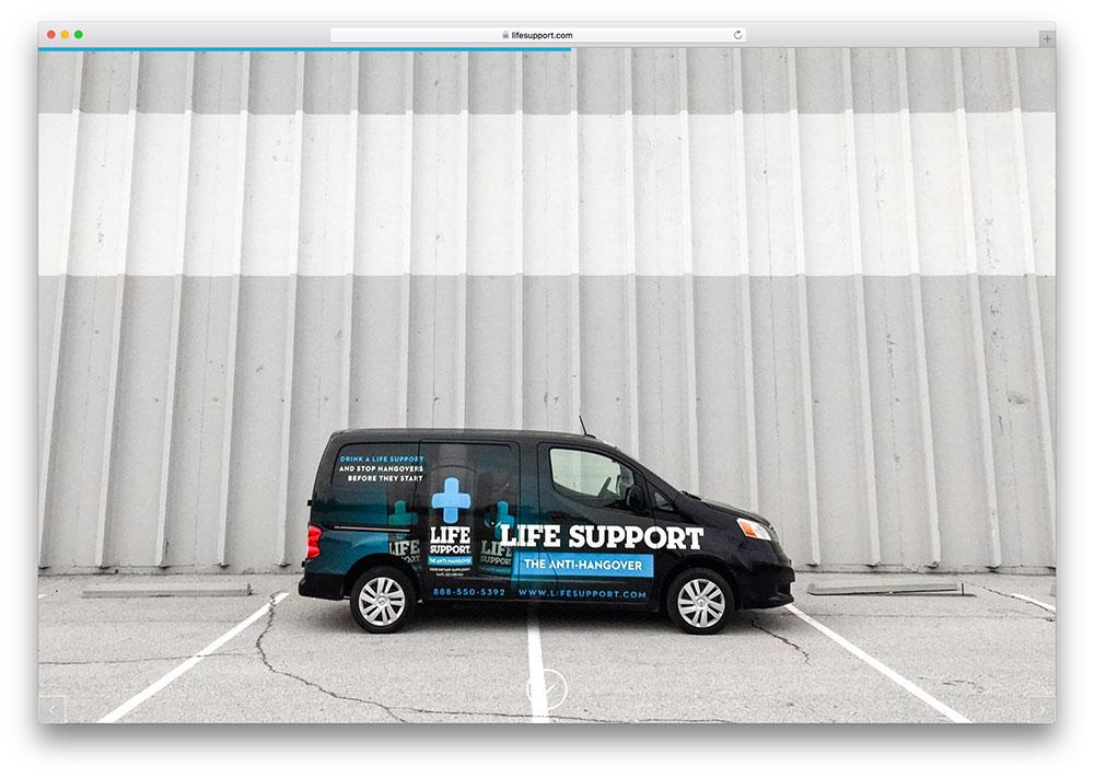 lifesupport-startup-site-using-x-wordpress-theme