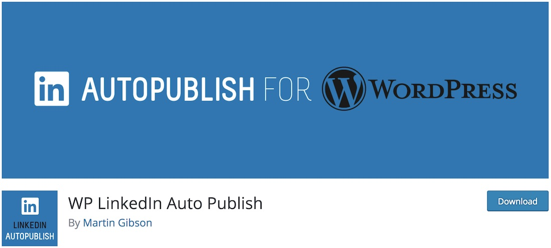 linkedin auto publish wordpress plugin