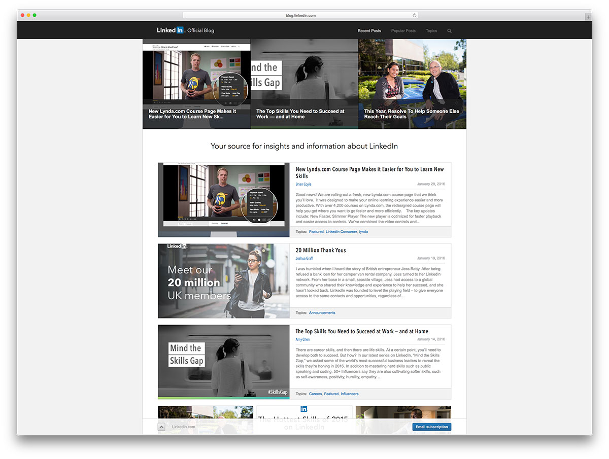 linkedin-blog-powered-by-wordpress