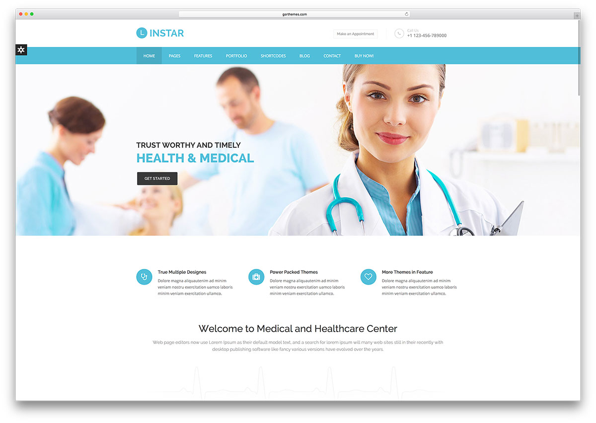 linstar-minimal-health-html5-website-template