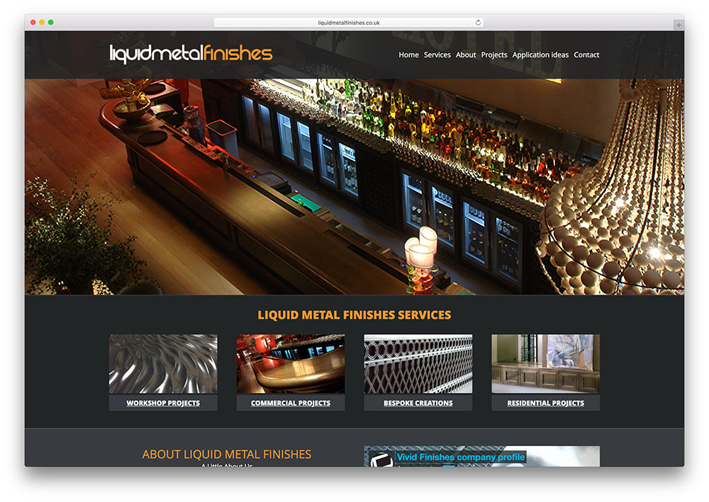 liquidmetalfinishes-the7-theme-small-business-example