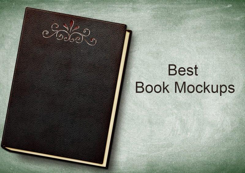Top 20 Favorite Book Mockups Of Designers