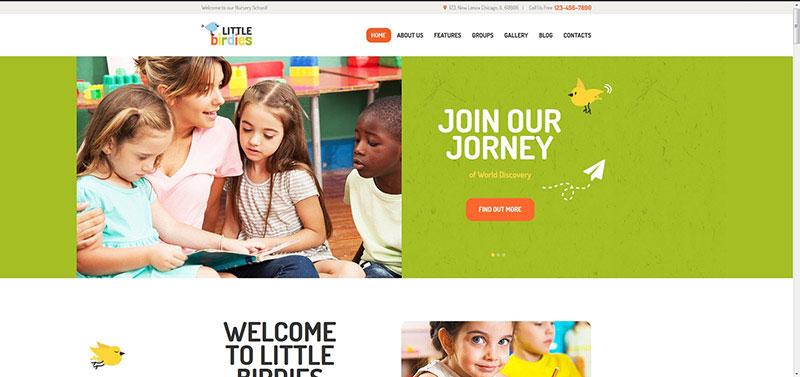 Little Birdies | Multipurpose Children WP Theme