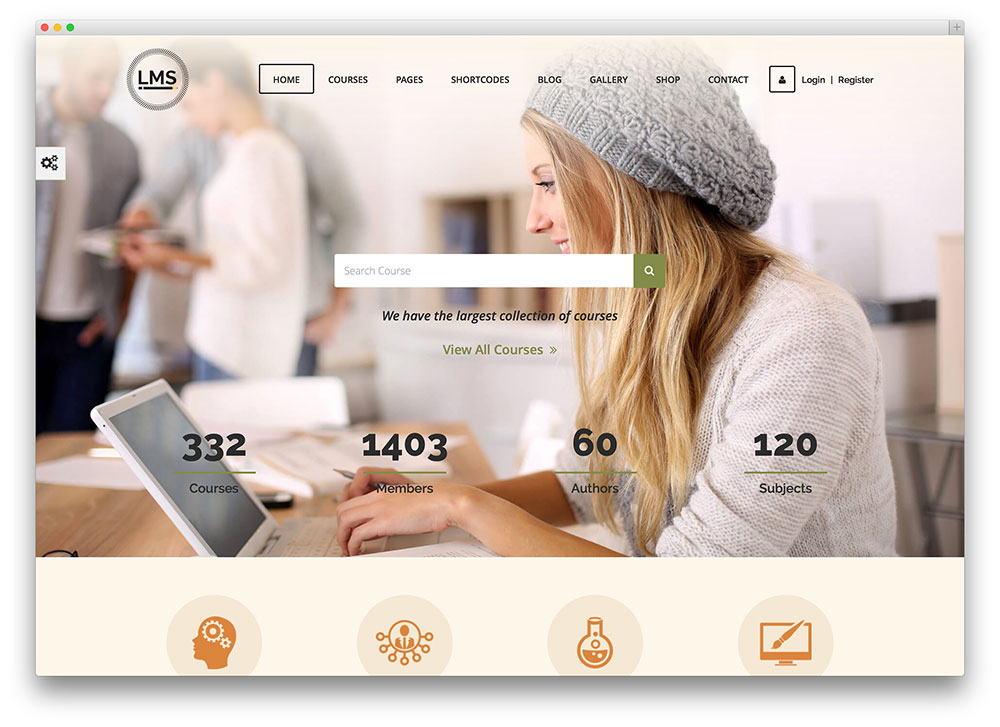 lms - multipurpose online course theme