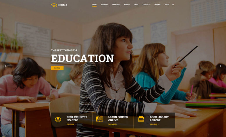 Top 15 Learning Management System (LMS) WordPress Themes 2018