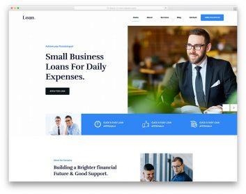 Loan Free Template