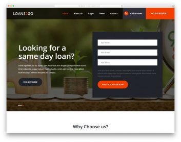 Loans2go Free Template