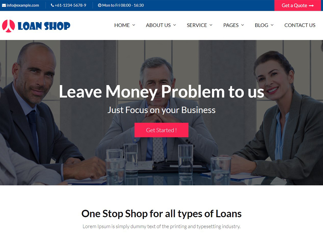 loanshop-loan-company-finance-advisor-wordpress-theme