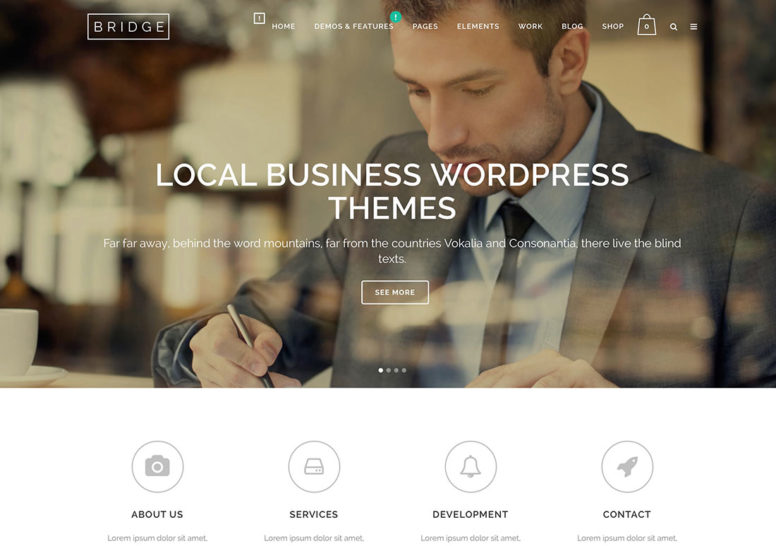 Top 20 WordPress Themes For Local Businesses, Startups And Other Small Enterprises 2018