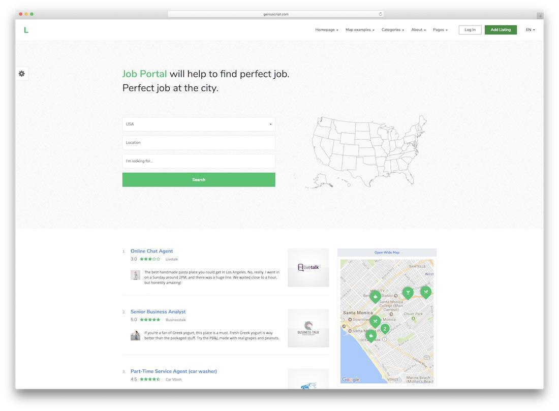 29 Top Responsive Directory Website Templates 2019 - Colorlib
