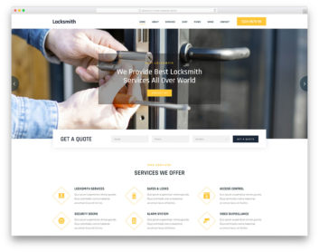 Locksmith Colorlib Template