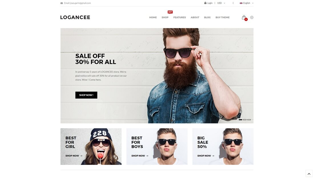 logancee drupal commerce template