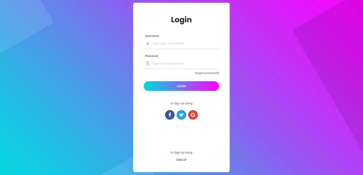 20 Best Free Bootstrap Login Forms 2019 - Colorlib