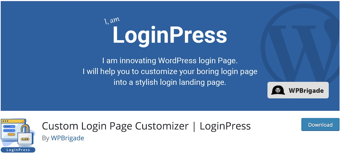 loginpress customize login page plugin