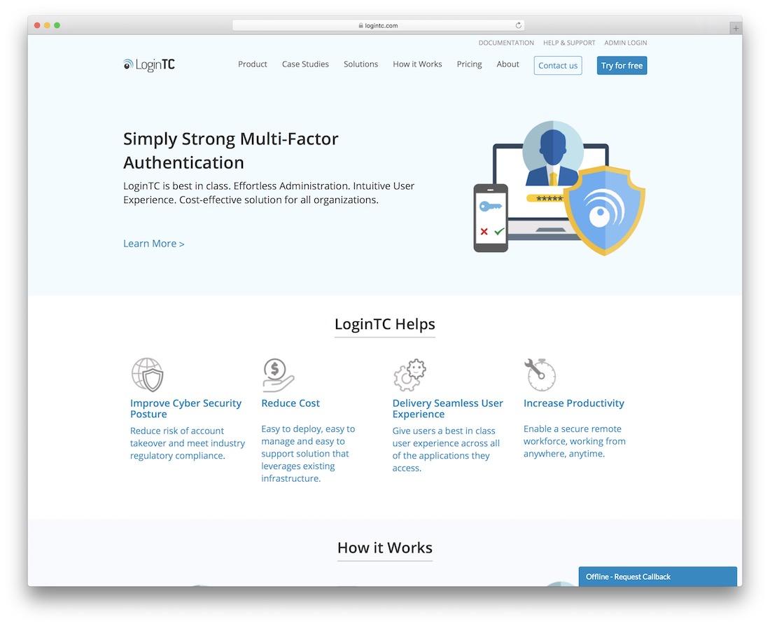 logintc multi factor authentication