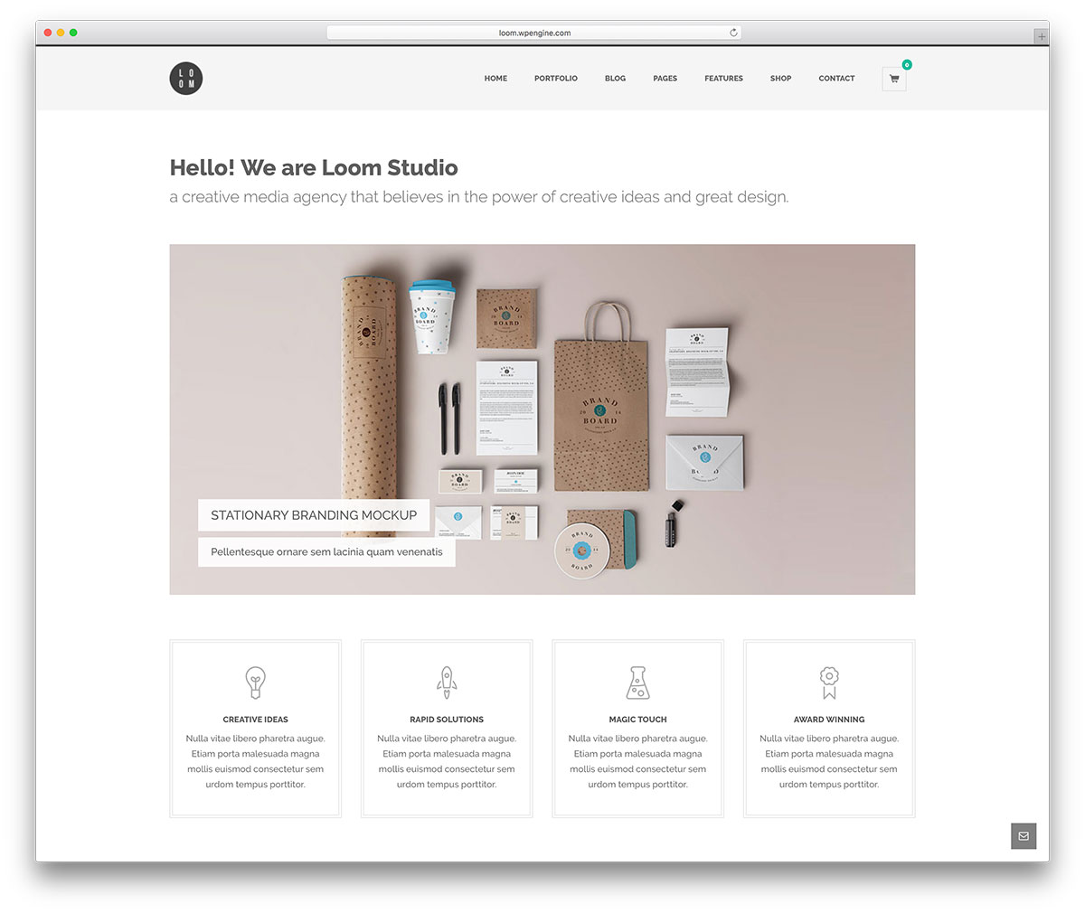 loom-simple-business-site-template