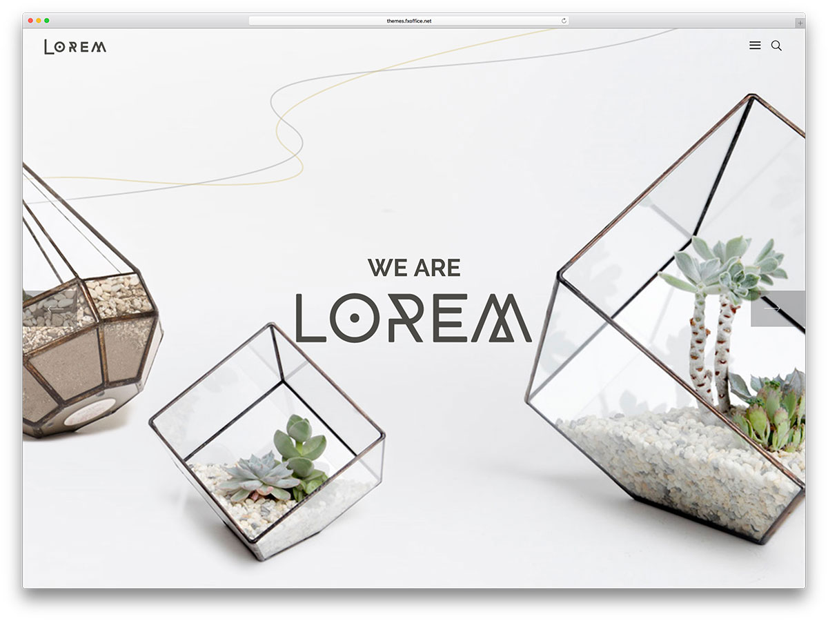 lorem-unique-fullscreen-wordpress-theme