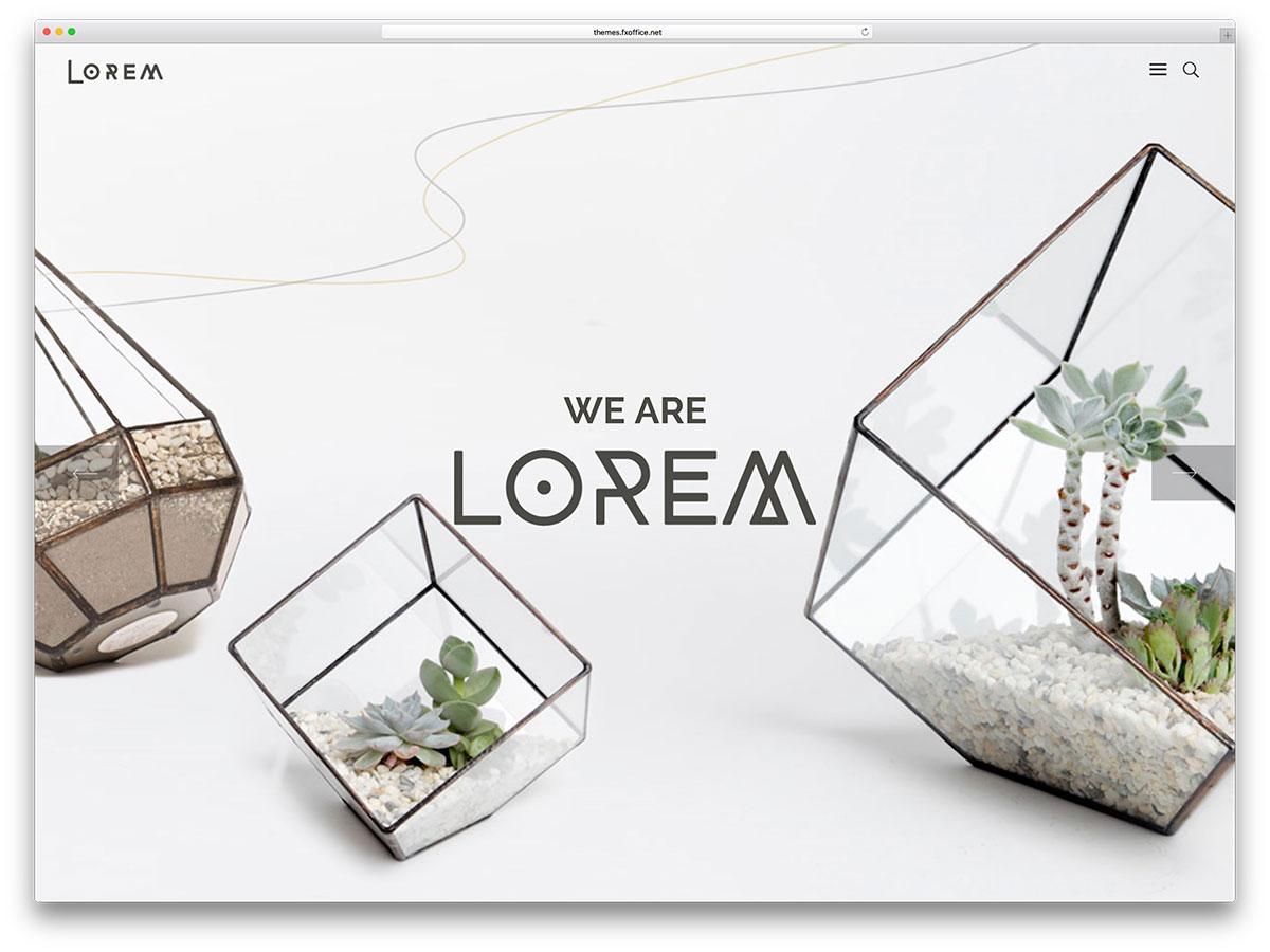 lorem-unique-fullscreen-wordpress-theme