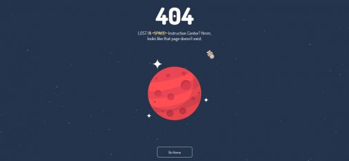 30 Striking and Creative HTTP 404 Error Page Examples 2017 - Colorlib