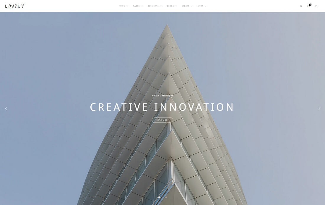 lovely HTML construction company template