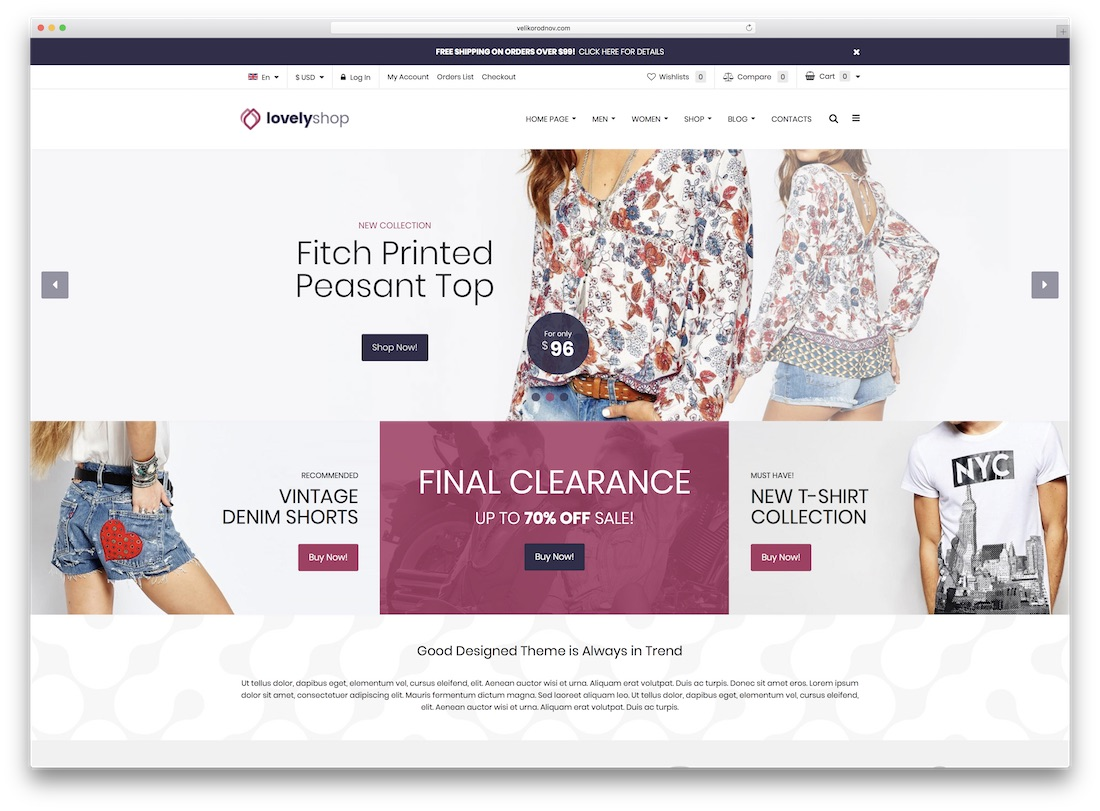 lovelyshop responsive virtuemart template