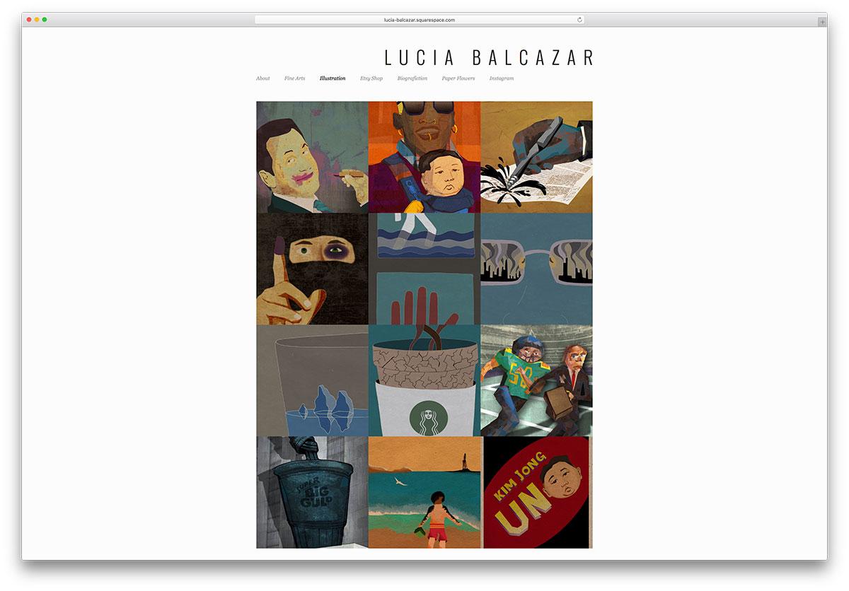 lucia-balcazar-squarespace-portfolio-wordpress-theme