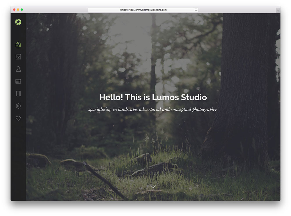 lumos - creative photography theme