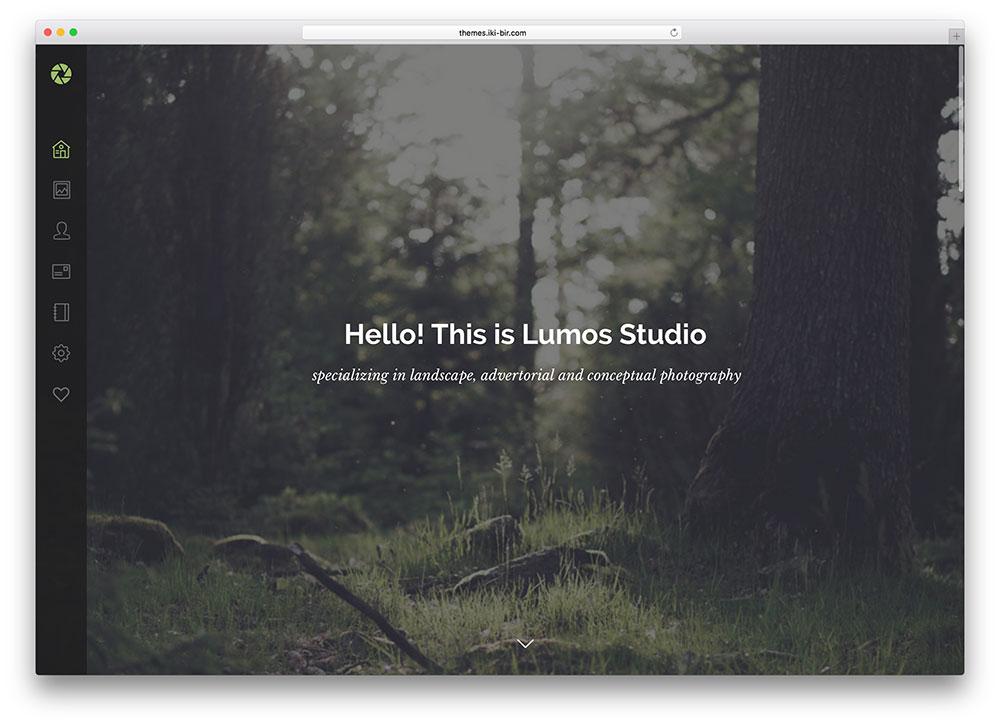 lumos-fullscreen-portfolio-template