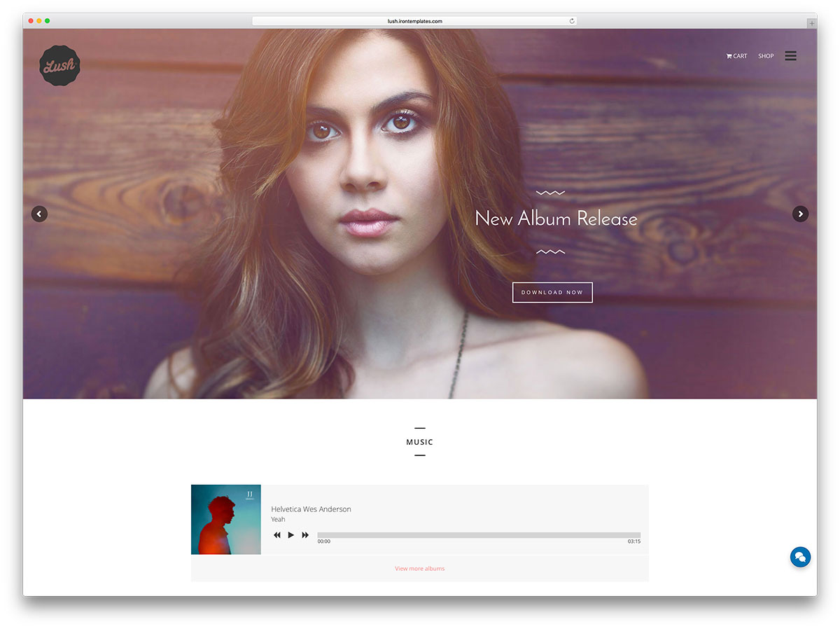 luxuriante-music-wordpress-site-modelo