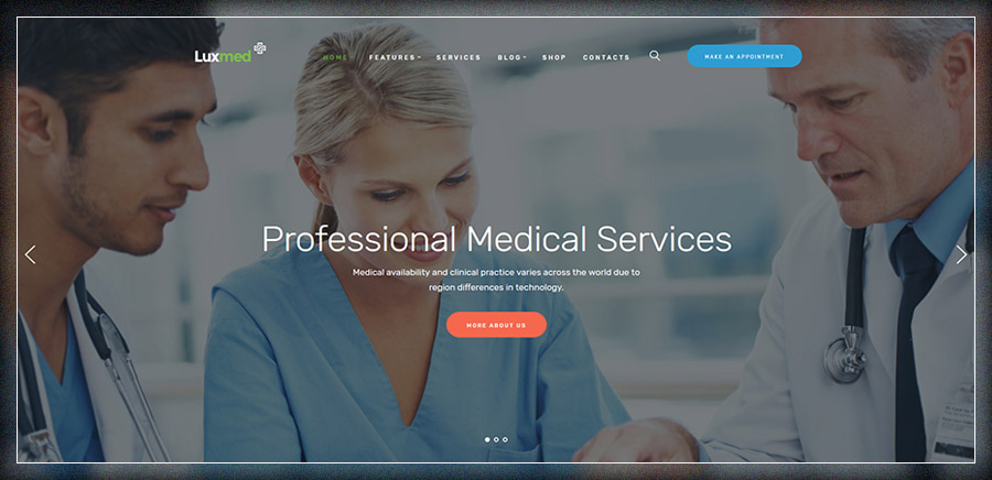 LuxMed | Medicine & Healthcare WP Theme