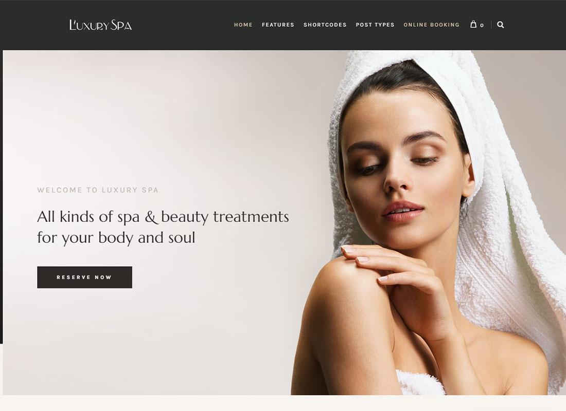 Luxury Spa | Beauty Spa & Wellness Resort Theme