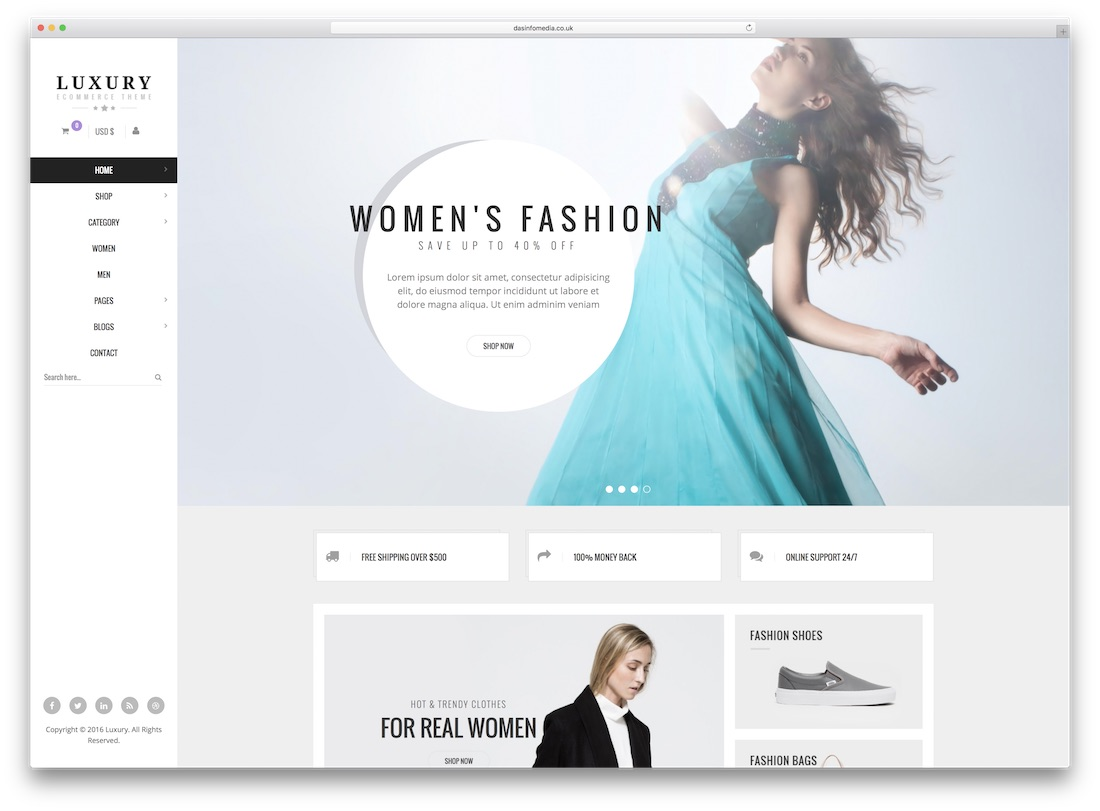 luxury responsive virtuemart template