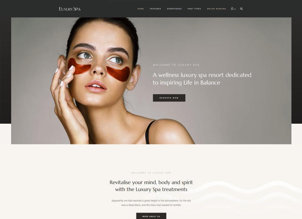 Luxury Spa | Beauty Spa & Wellness Resort WordPress Theme