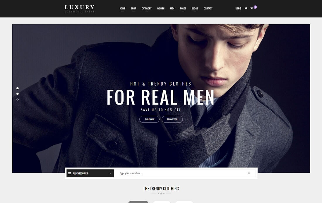 luxury virtuemart template