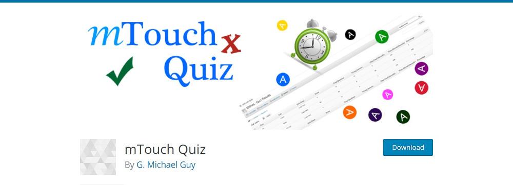 mTouch Quiz