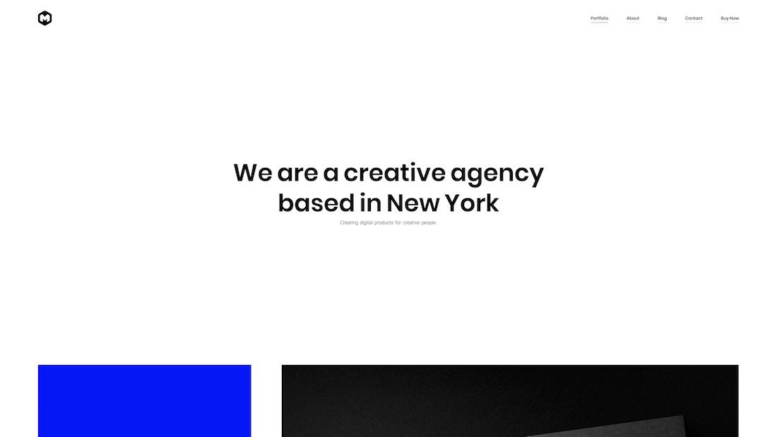 maestro graphic design website template
