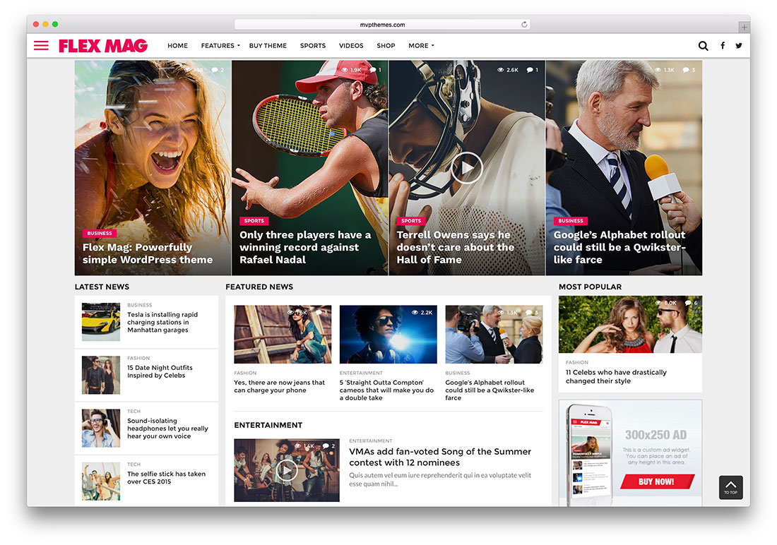 Amazing Magazine Wordpress Themes   Colorlib