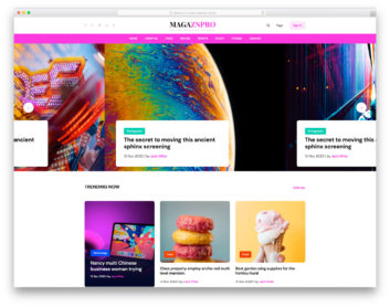 Magaznpro Colorlib Template