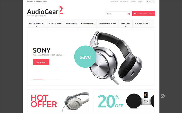 aying Gear Magento Theme