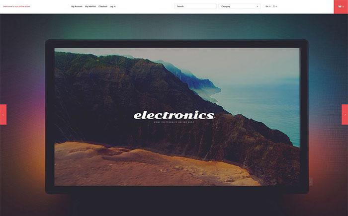 ctronics Store Magento Theme
