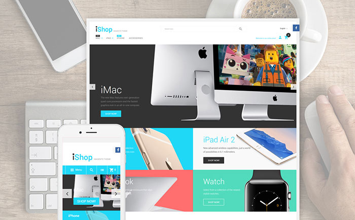 ic Devices Magento Template