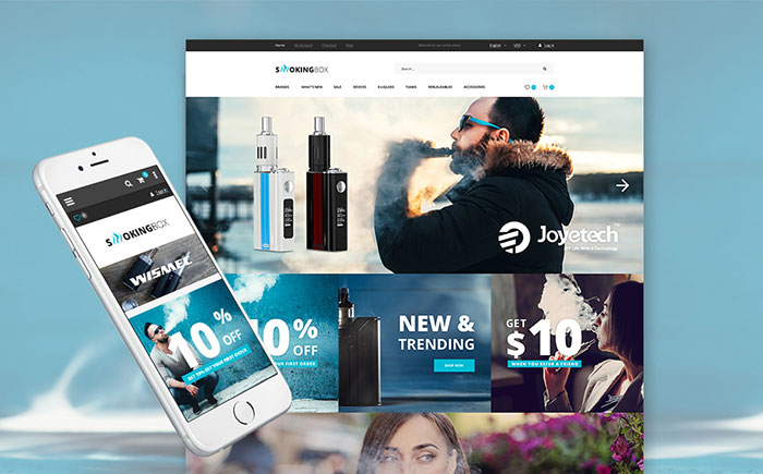 mp; Electronic Cigarette Magento Store
