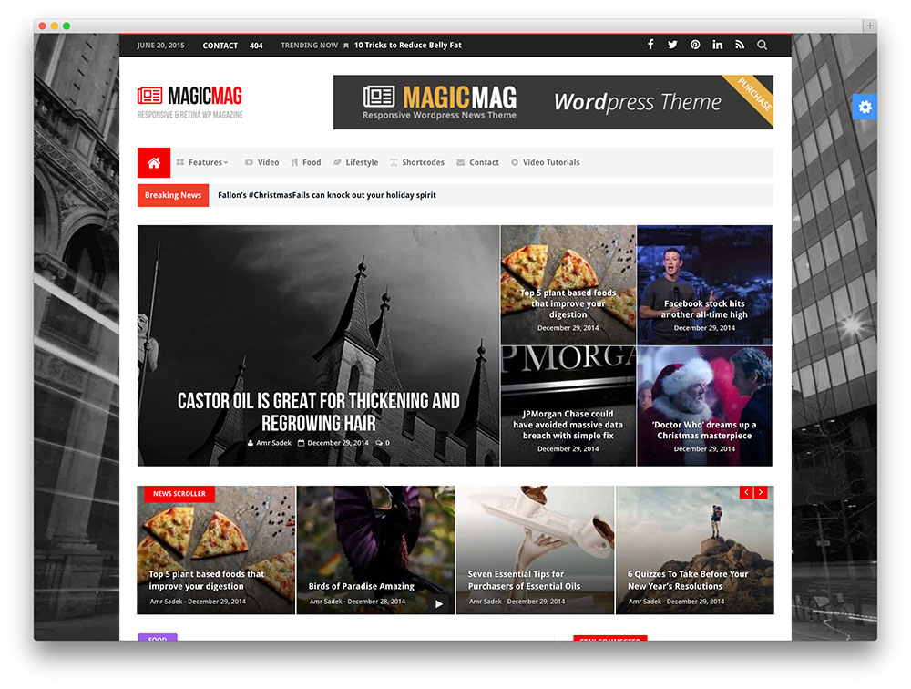 magicmag - tech review theme