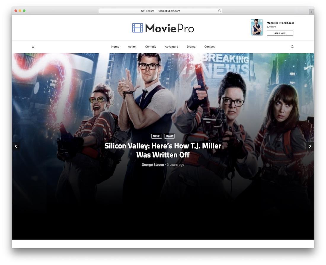 magplus movies wordpress theme