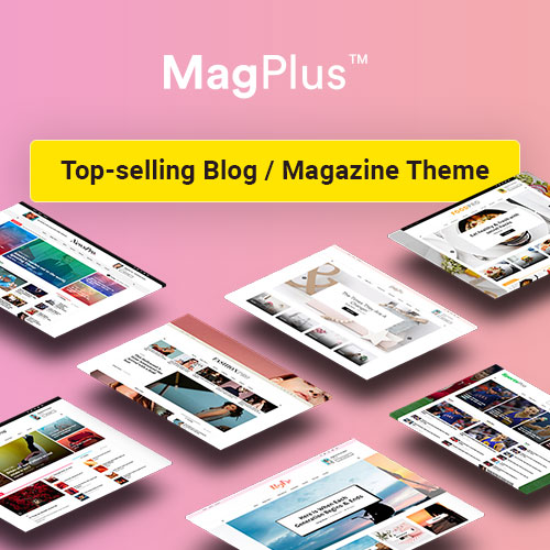 MagPlus theme on Colorlib