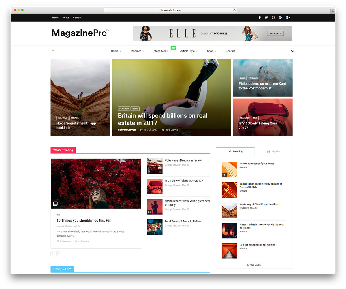 30+ Best SEO Friendly WordPress Themes 2019 - colorlib
