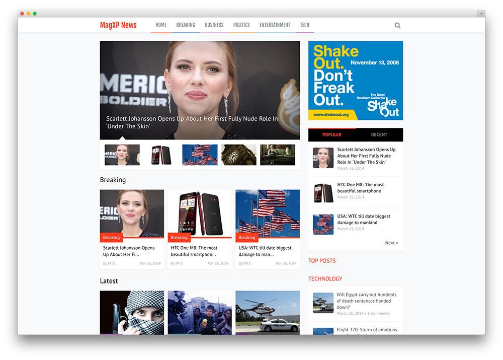 Newspaper WordPress Themes 20 Best WordPress Newspaper Themes for News Sites 2017 ...