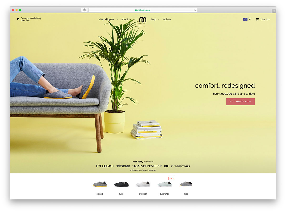 35 Beautiful eCommerce Websites for Your Inspiration 2019 - Colorlib