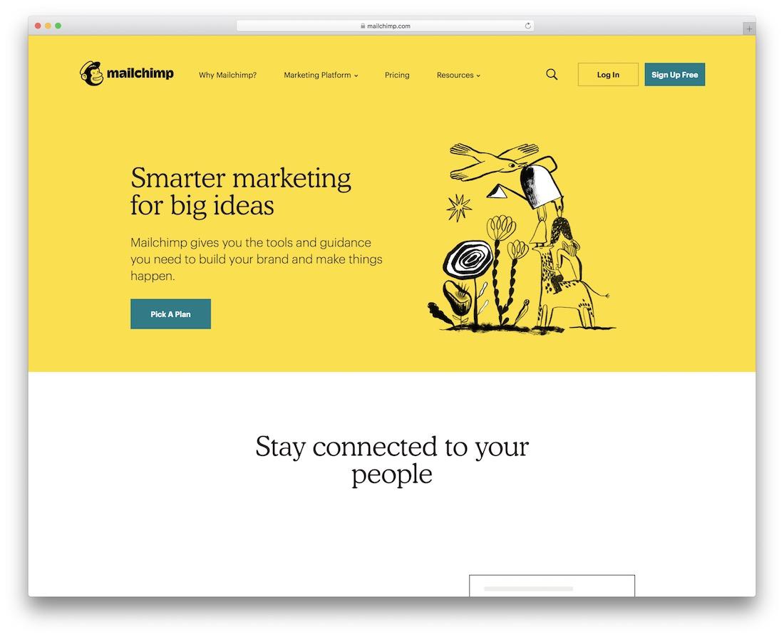 mailchimp email platform for developers
